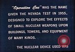 Image of Operation Cue Nevada United States USA, 1964, second 9 stock footage video 65675072219