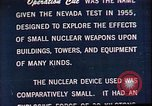 Image of Operation Cue Nevada United States USA, 1964, second 12 stock footage video 65675072219