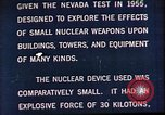 Image of Operation Cue Nevada United States USA, 1964, second 14 stock footage video 65675072219