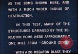 Image of Operation Cue Nevada United States USA, 1964, second 39 stock footage video 65675072219