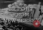 Image of Hudson River New Jersey United States USA, 1946, second 27 stock footage video 65675072226