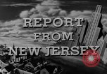 Image of Hudson River New Jersey United States USA, 1946, second 28 stock footage video 65675072226