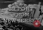 Image of Hudson River New Jersey United States USA, 1946, second 30 stock footage video 65675072226