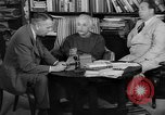 Image of Albert Einstein peaceful use of atomic power Princeton New Jersey USA, 1946, second 9 stock footage video 65675072233