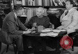 Image of Albert Einstein peaceful use of atomic power Princeton New Jersey USA, 1946, second 10 stock footage video 65675072233