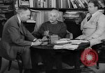 Image of Albert Einstein peaceful use of atomic power Princeton New Jersey USA, 1946, second 14 stock footage video 65675072233