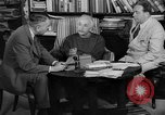 Image of Albert Einstein peaceful use of atomic power Princeton New Jersey USA, 1946, second 20 stock footage video 65675072233