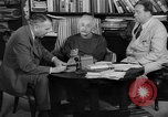 Image of Albert Einstein peaceful use of atomic power Princeton New Jersey USA, 1946, second 22 stock footage video 65675072233