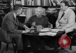 Image of Albert Einstein peaceful use of atomic power Princeton New Jersey USA, 1946, second 25 stock footage video 65675072233