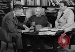Image of Albert Einstein peaceful use of atomic power Princeton New Jersey USA, 1946, second 27 stock footage video 65675072233