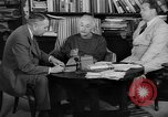 Image of Albert Einstein peaceful use of atomic power Princeton New Jersey USA, 1946, second 34 stock footage video 65675072233