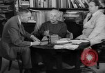 Image of Albert Einstein peaceful use of atomic power Princeton New Jersey USA, 1946, second 37 stock footage video 65675072233
