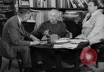 Image of Albert Einstein peaceful use of atomic power Princeton New Jersey USA, 1946, second 39 stock footage video 65675072233