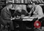 Image of Albert Einstein peaceful use of atomic power Princeton New Jersey USA, 1946, second 51 stock footage video 65675072233