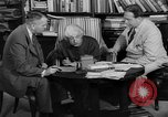 Image of Albert Einstein peaceful use of atomic power Princeton New Jersey USA, 1946, second 52 stock footage video 65675072233