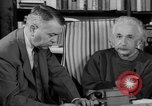 Image of Albert Einstein peaceful use of atomic power Princeton New Jersey USA, 1946, second 57 stock footage video 65675072233