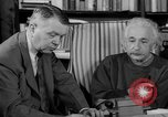 Image of Albert Einstein peaceful use of atomic power Princeton New Jersey USA, 1946, second 58 stock footage video 65675072233