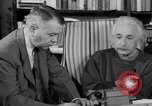 Image of Albert Einstein peaceful use of atomic power Princeton New Jersey USA, 1946, second 60 stock footage video 65675072233