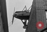 Image of landing on roof New York United States USA, 1933, second 54 stock footage video 65675072248