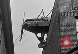 Image of landing on roof New York United States USA, 1933, second 55 stock footage video 65675072248
