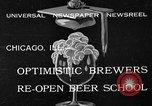 Image of brewers make beer after prohibition ends Chicago Illinois USA, 1933, second 2 stock footage video 65675072249