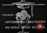 Image of brewers make beer after prohibition ends Chicago Illinois USA, 1933, second 6 stock footage video 65675072249