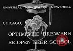 Image of brewers make beer after prohibition ends Chicago Illinois USA, 1933, second 8 stock footage video 65675072249