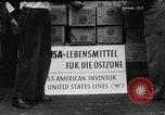 Image of Surplus food distributed for starving East Germans Germany, 1951, second 15 stock footage video 65675072259