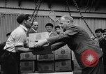Image of Surplus food distributed for starving East Germans Germany, 1951, second 17 stock footage video 65675072259