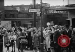 Image of Surplus food distributed for starving East Germans Germany, 1951, second 20 stock footage video 65675072259