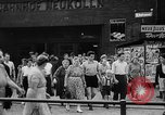 Image of Surplus food distributed for starving East Germans Germany, 1951, second 21 stock footage video 65675072259