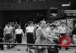 Image of Surplus food distributed for starving East Germans Germany, 1951, second 22 stock footage video 65675072259