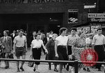 Image of Surplus food distributed for starving East Germans Germany, 1951, second 23 stock footage video 65675072259