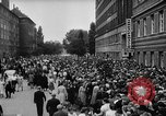Image of Surplus food distributed for starving East Germans Germany, 1951, second 24 stock footage video 65675072259