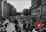 Image of Surplus food distributed for starving East Germans Germany, 1951, second 25 stock footage video 65675072259