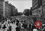 Image of Surplus food distributed for starving East Germans Germany, 1951, second 27 stock footage video 65675072259