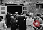 Image of Surplus food distributed for starving East Germans Germany, 1951, second 30 stock footage video 65675072259