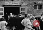 Image of Surplus food distributed for starving East Germans Germany, 1951, second 31 stock footage video 65675072259