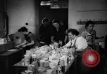 Image of Surplus food distributed for starving East Germans Germany, 1951, second 32 stock footage video 65675072259