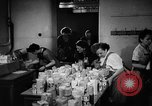 Image of Surplus food distributed for starving East Germans Germany, 1951, second 33 stock footage video 65675072259