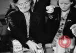 Image of Surplus food distributed for starving East Germans Germany, 1951, second 39 stock footage video 65675072259