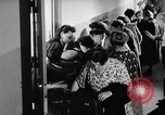 Image of Surplus food distributed for starving East Germans Germany, 1951, second 40 stock footage video 65675072259