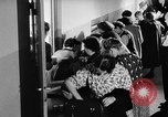 Image of Surplus food distributed for starving East Germans Germany, 1951, second 42 stock footage video 65675072259