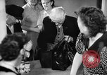 Image of Surplus food distributed for starving East Germans Germany, 1951, second 48 stock footage video 65675072259