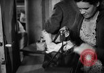 Image of Surplus food distributed for starving East Germans Germany, 1951, second 49 stock footage video 65675072259