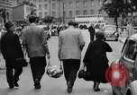 Image of Surplus food distributed for starving East Germans Germany, 1951, second 50 stock footage video 65675072259