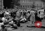 Image of Surplus food distributed for starving East Germans Germany, 1951, second 52 stock footage video 65675072259