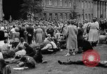 Image of Surplus food distributed for starving East Germans Germany, 1951, second 53 stock footage video 65675072259