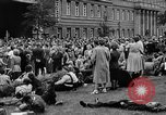 Image of Surplus food distributed for starving East Germans Germany, 1951, second 54 stock footage video 65675072259