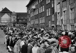 Image of Surplus food distributed for starving East Germans Germany, 1951, second 60 stock footage video 65675072259